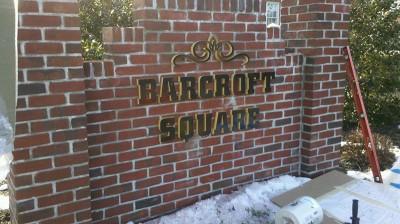 Barcroft Square Sign
