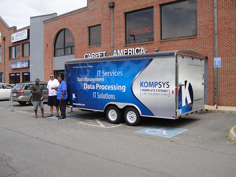Kompsys Kompsys 20 Ft Trailer Wrap