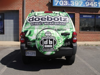 Doebotz Vehicle Wrap 1
