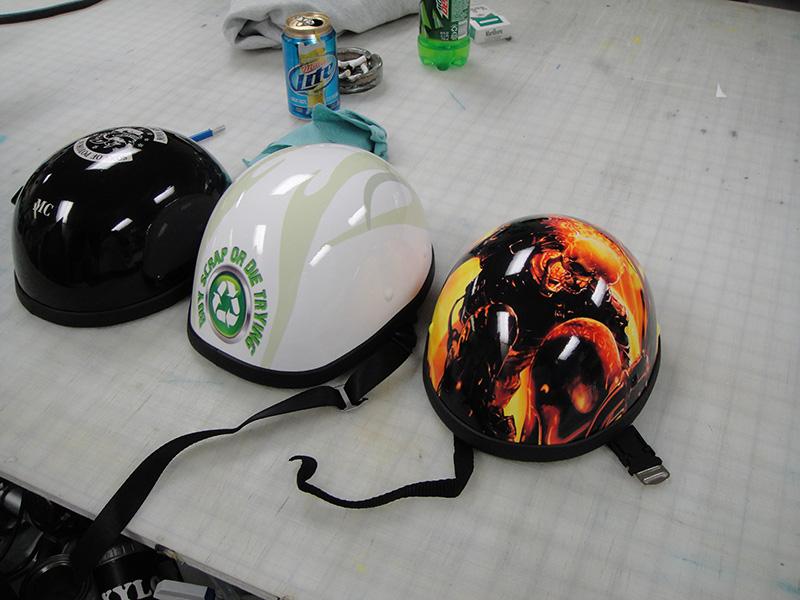 Harley Half Helmet Wraps Harley 360 Helmet Wraps
