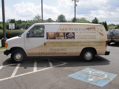 Old World Effects Vehicle Wrap