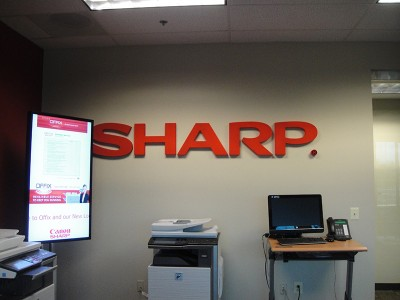 Sharp Routed & Sprayed Foam Sign