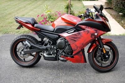 Vehicle Wraps Great Falls - cafe motorcycle vehicle wrap